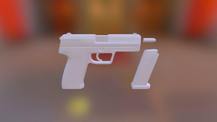 UPS 45 (WIP) 3D Model