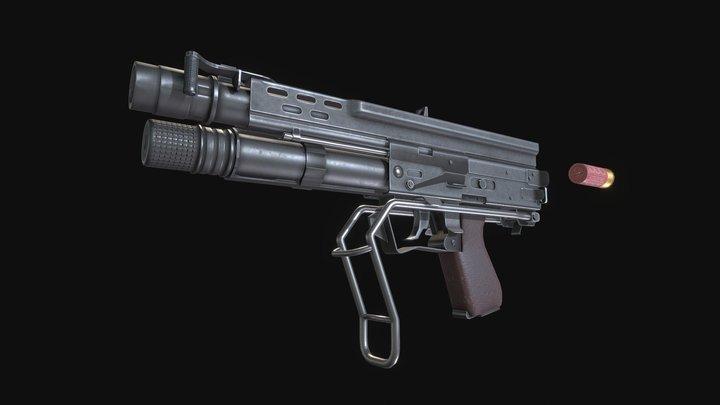 Alyx Shotgun 3D Model