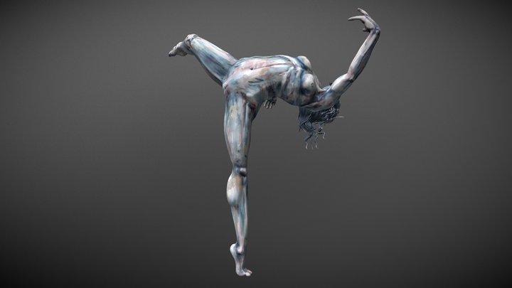 Painted Dance 3D Model