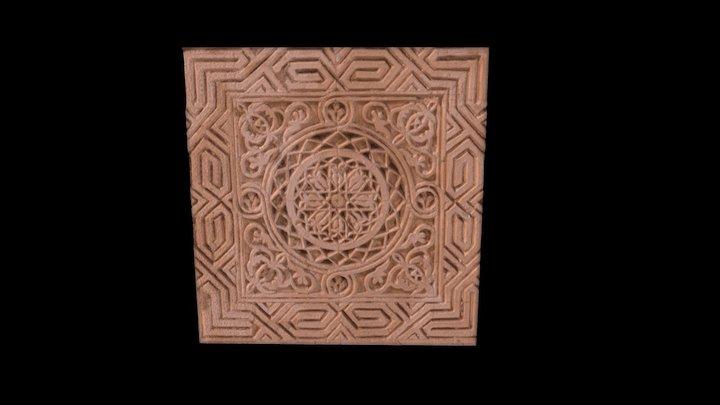 Beit Jokhdar Gypsum Detail III 3D Model