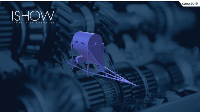 Sisal Decorticator 3D Model