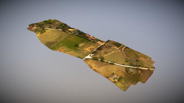 Mesa de Los Santos Sector 3D Model
