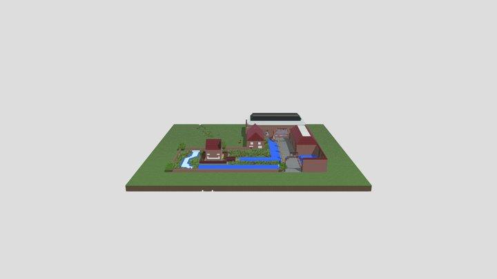 La Fonderie Aout 2021 - 5 Obj 3D Model