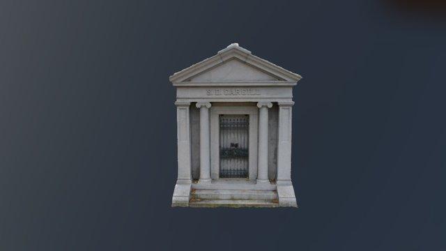 S.D. Cargill Mausoleum 3D Model