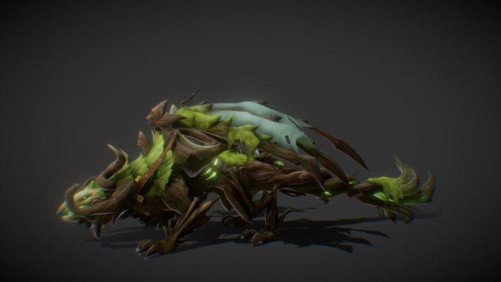 MountDragonForest [M] 3D Model