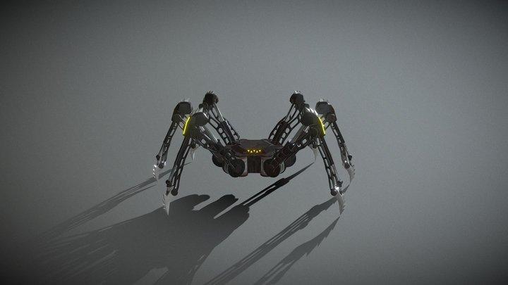 Scrab Drone 3D Model