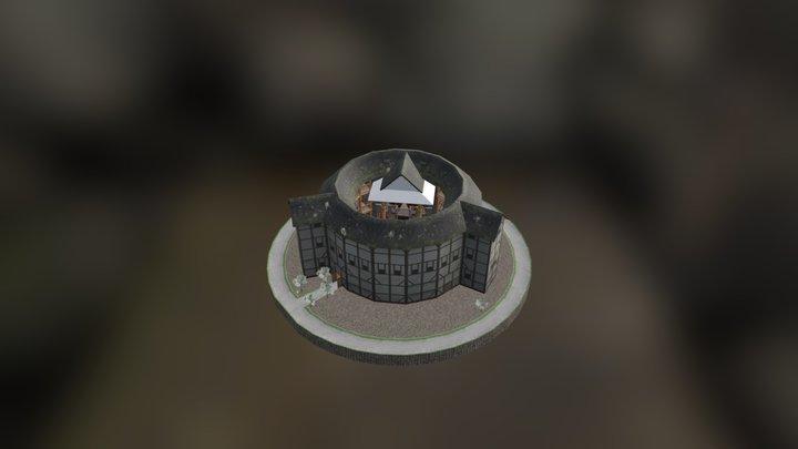 Shakespeare's Globe Theatre 3D Model