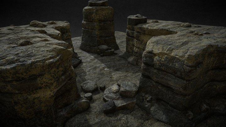 Rocks set2 3D Model