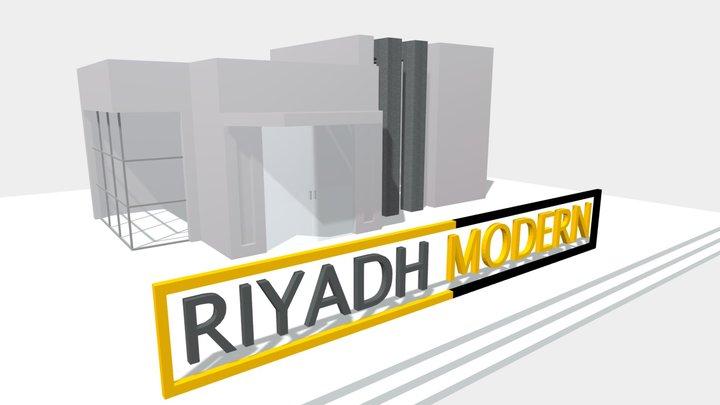 Guest Room Modern 3D Model