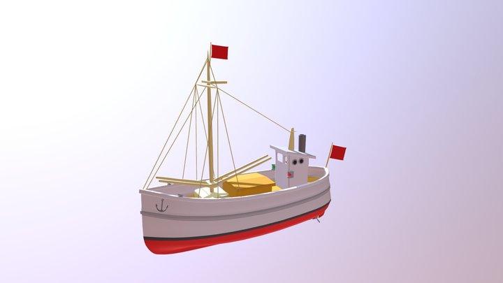 Fisherboat170510 3D Model