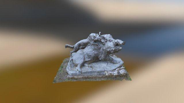 Bear_Sketchfab 3D Model