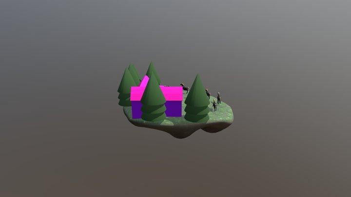 New_horse_02 3D Model