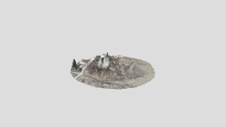Baglyaskő Vára 3D Model