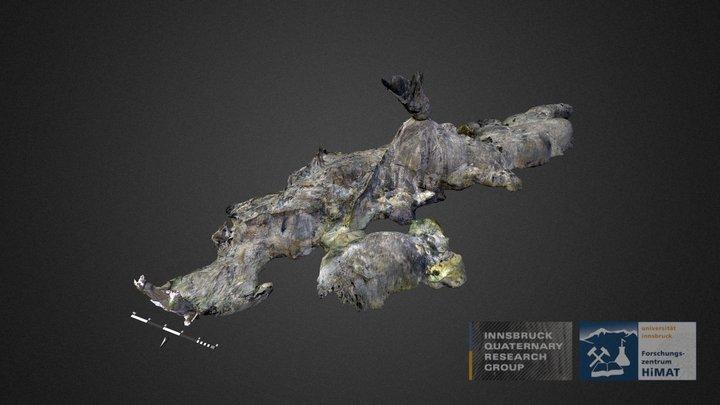 Prehistoric Copper Mine - Kropfsberg (Tyrol/AUT) 3D Model