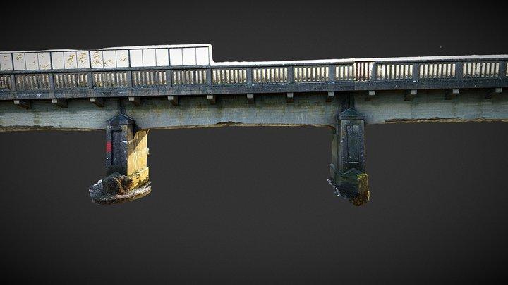 Disused Rail Bridge - Athy, Co. Kildare 3D Model