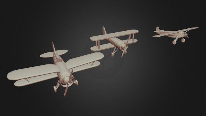 Aviones 3D Model