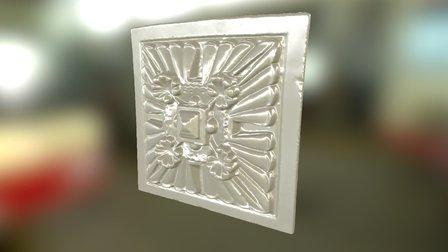 Ornamental Plate 001 3D Model