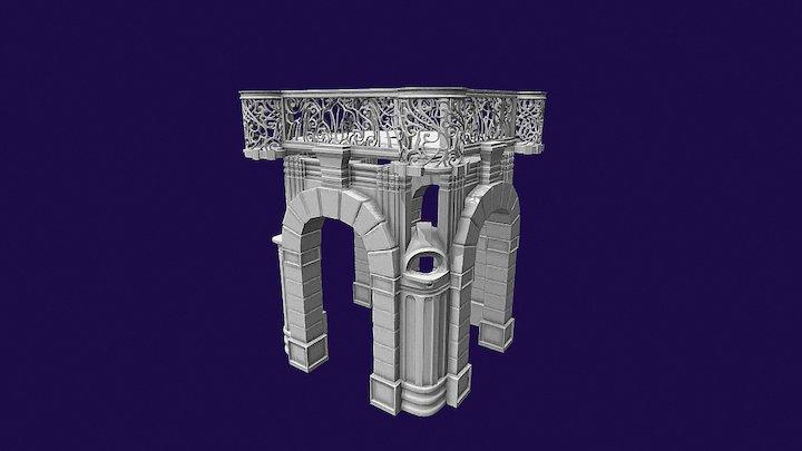 Merged Pilastriok 3D Model