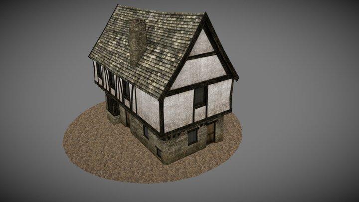 Medieval Tavern Inn 3D Model
