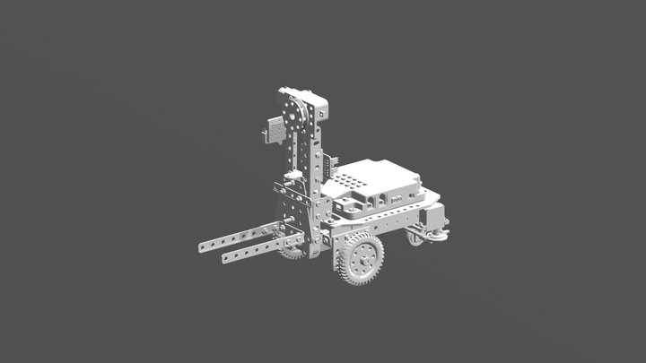 A004 STAPLER mit  mCore 3D Model