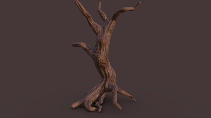 Tree Base: WIP 3D Model