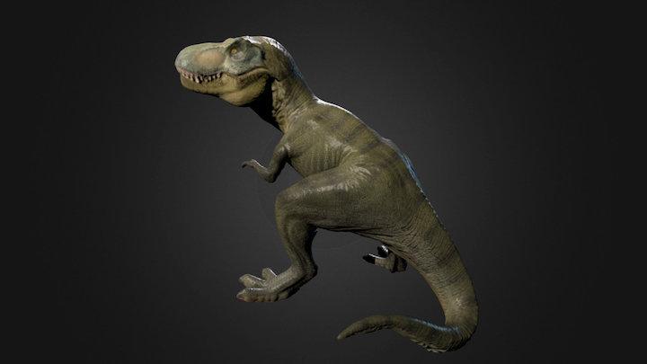 T-Rex Photogrammetry test 3D Model