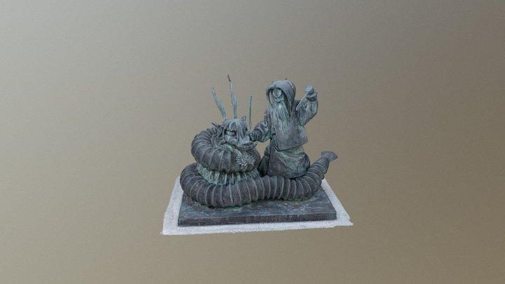 Kagura scene 3D Model