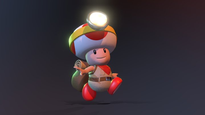 Captain Toad - Animated 3D Model