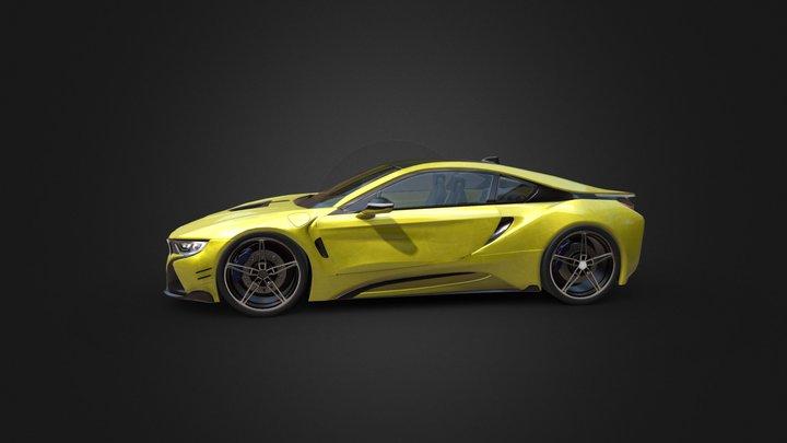 Car modeling BMW i8 3D Model