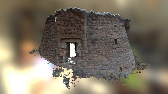 Torre De La Petita - Berga 3D Model