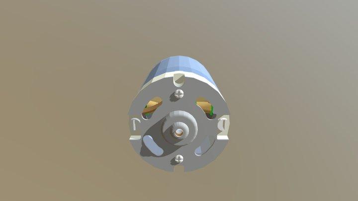 Moteur DC 3D Model