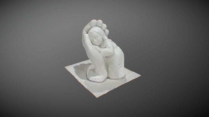 little girl 3D Model