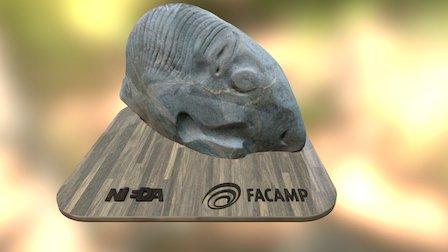 Escultura - Peixe Cavalo 3D Model