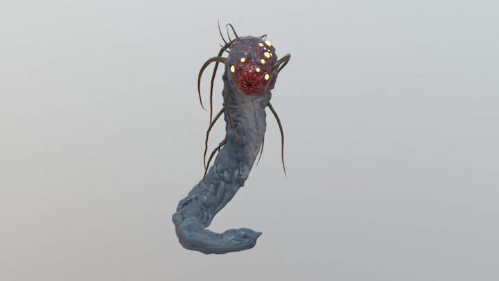 Skysh Worm (WIP) 3D Model