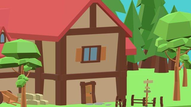 Inn at the Forest 3D Model