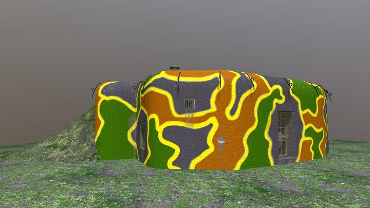 Bunker Řopík A 160 3D Model