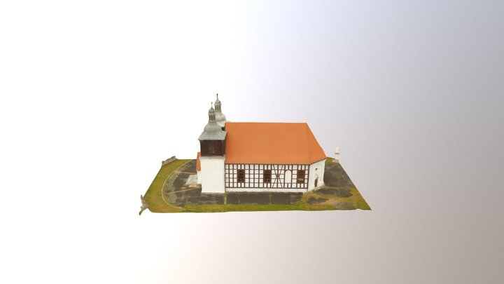 Church at Skoki 3D Model