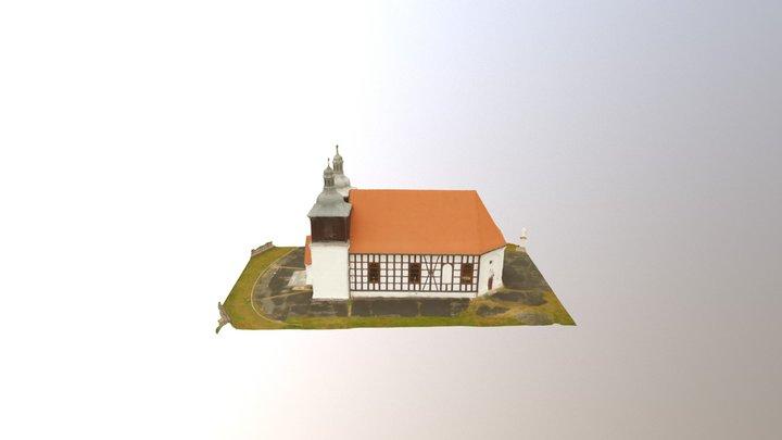 Church at Skoki 3D Model