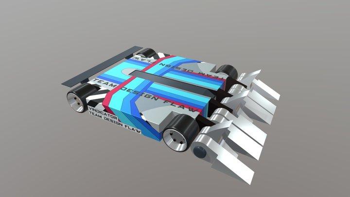Vindicator 3D Model