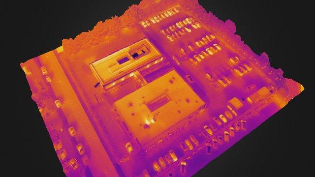 LE34 - Thermal 3D Mesh 3D Model