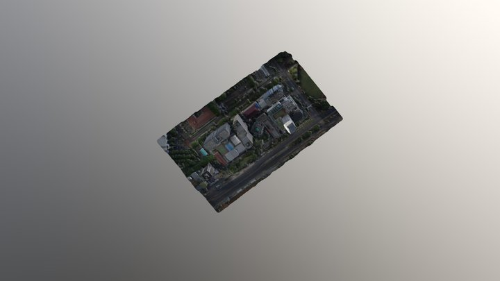 Gedung Kemdikbud Senayan 3D Model