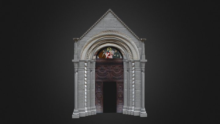 Porta San Francesco (Guardiagrele, Italy) 3D Model