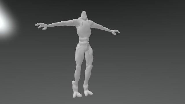 Alien body WIP 3D Model
