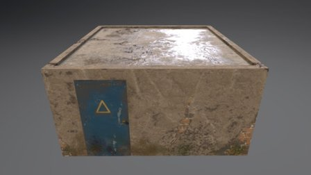 Checkpoint Building 3D Model