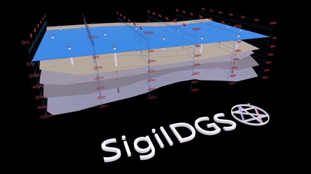 SigilDGS™ Geotechnical Engineering Visualization 3D Model