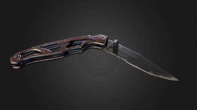 Gerber knife 3D Model