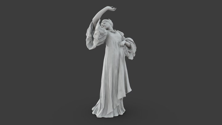 Figure of a Dancer 3D Model