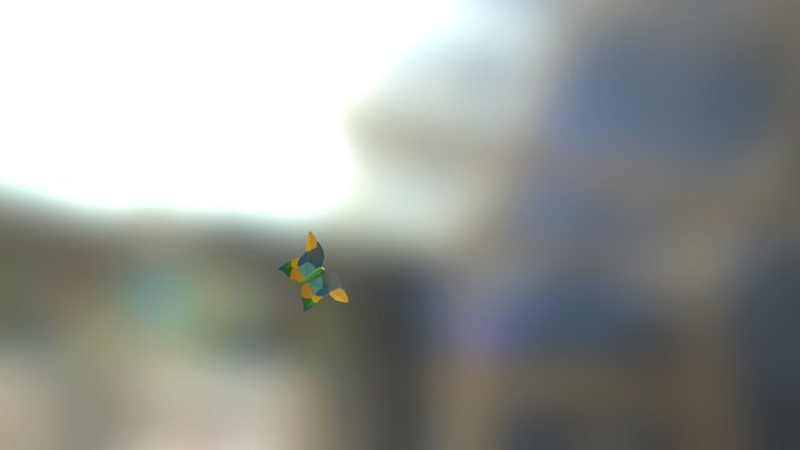butterflyv4 3D Model