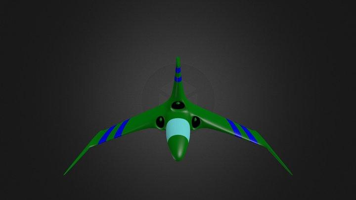 Spaceship 3D Model