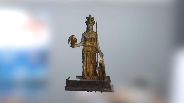 Joshua Woods: Athena 3D Model